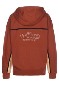 Nike Sportswear - Zip-up hoodie - firewood orange / orange chalk / white - 1