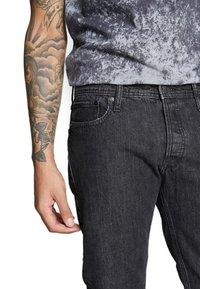Jack & Jones - JJIMIKE - Jeans slim fit - black denim - 3