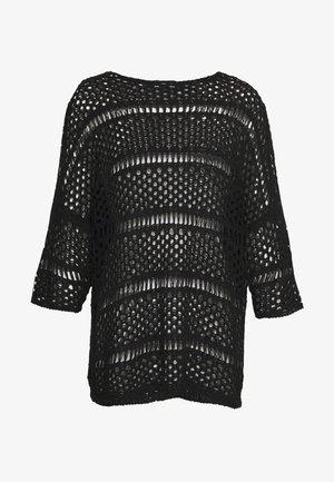 3/4 LONG - Pullover - black
