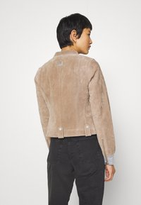 Freaky Nation - TWILA - Leather jacket - wood - 3