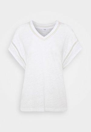 WOMENS - Print T-shirt - ivory