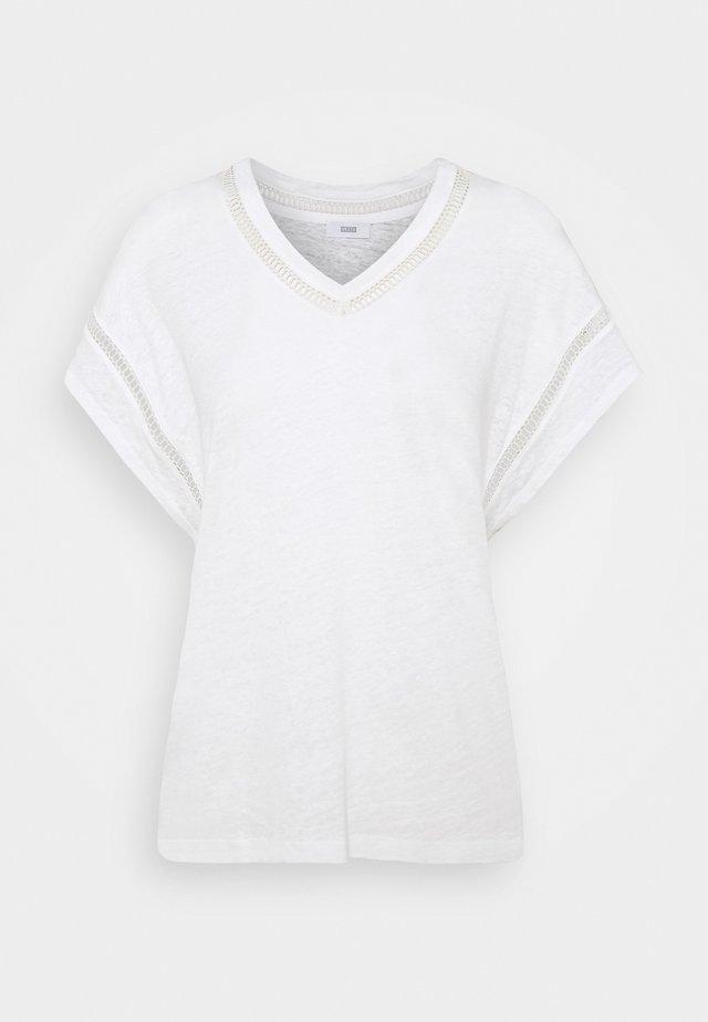 WOMENS - T-shirt print - ivory