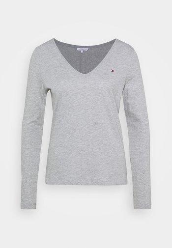 REGULAR CLASSIC - Long sleeved top - grey