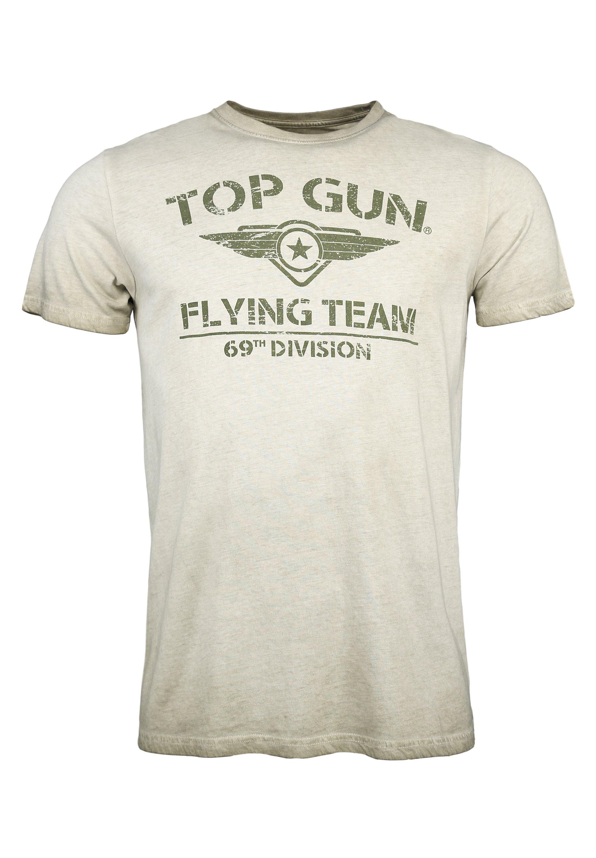 Herren MIT TOP GUN LOGO EASE - T-Shirt print