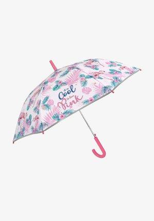 UMBRELLA WITH FLAMINGOS - Umbrella - rosa