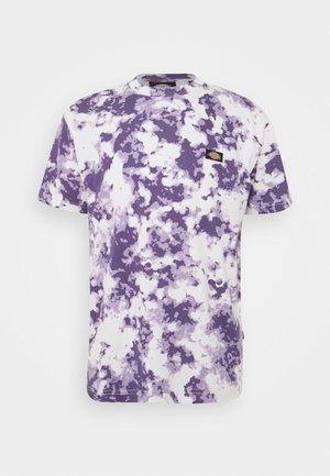 SUNBURG TEE - Printtipaita - purple gumdrop