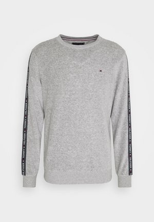 Pyjama top - mid grey heather