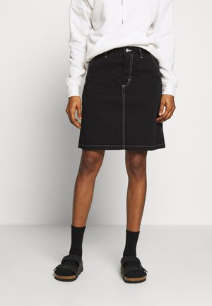 ARMANDA SKIRT ACADIA - A-Linien-Rock - black