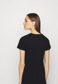 GAP - CREW MIDI DRESS - Jersey dress - true black - 3