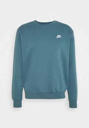 CLUB - Sweatshirt - ash green/white