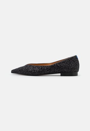 AMÉDÉE - Ballet pumps - black sparkle
