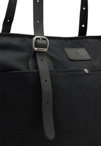 DreiMaster - DREIMASTER SHOPPER - Shopping bag - schwarz schwarz - 3