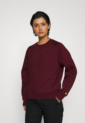 CHASE - Sweatshirt - jam/gold