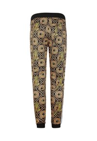 Ed Hardy - TIGER CROUCH BAROQUE TRACK PANT - Tracksuit bottoms - black - 5