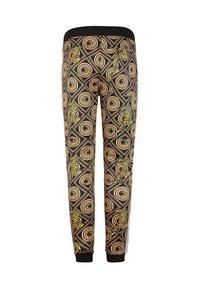 Ed Hardy - TIGER CROUCH BAROQUE TRACK PANT - Pantaloni sportivi - black - 5