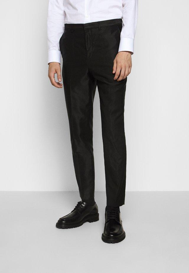 GERMAN - Suit trousers - black