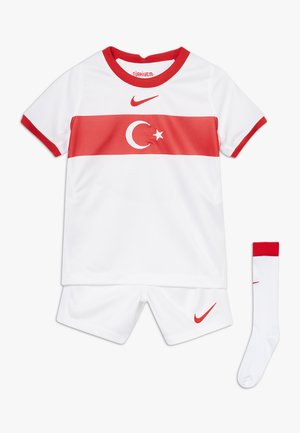 TÜRKEI LK NK BRT KIT HM SET - Korte broeken - white/red