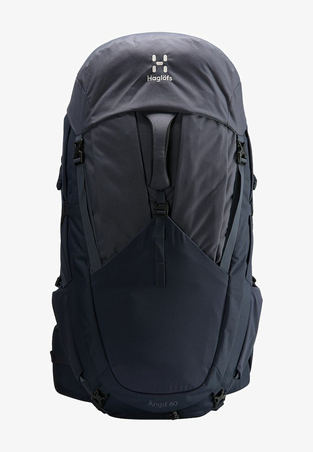 ÄNGD - Hiking rucksack - midnight sky/dense blue s-m