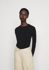 Max Mara Leisure - ASIAGO - Long sleeved top - schwarz - 4