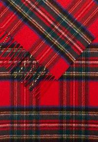 Johnstons of Elgin - 100% Cashmere Tartan Scarf - Halsduk - red - 2