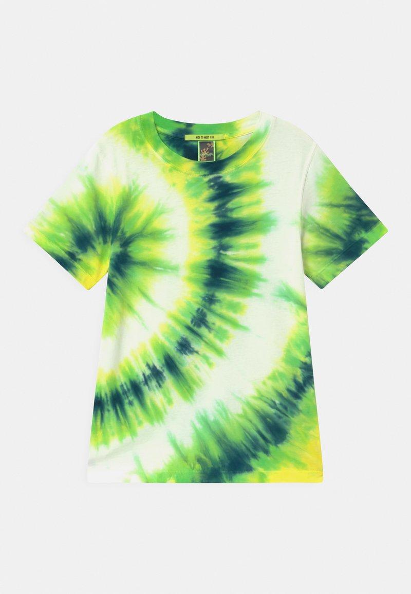 Scotch & Soda - PLACED TIE DYE  - Print T-shirt - multi-coloured