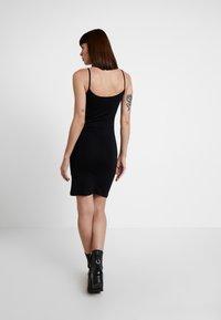 Samsøe Samsøe - TALLA SLIP DRESS - Shift dress - black - 3
