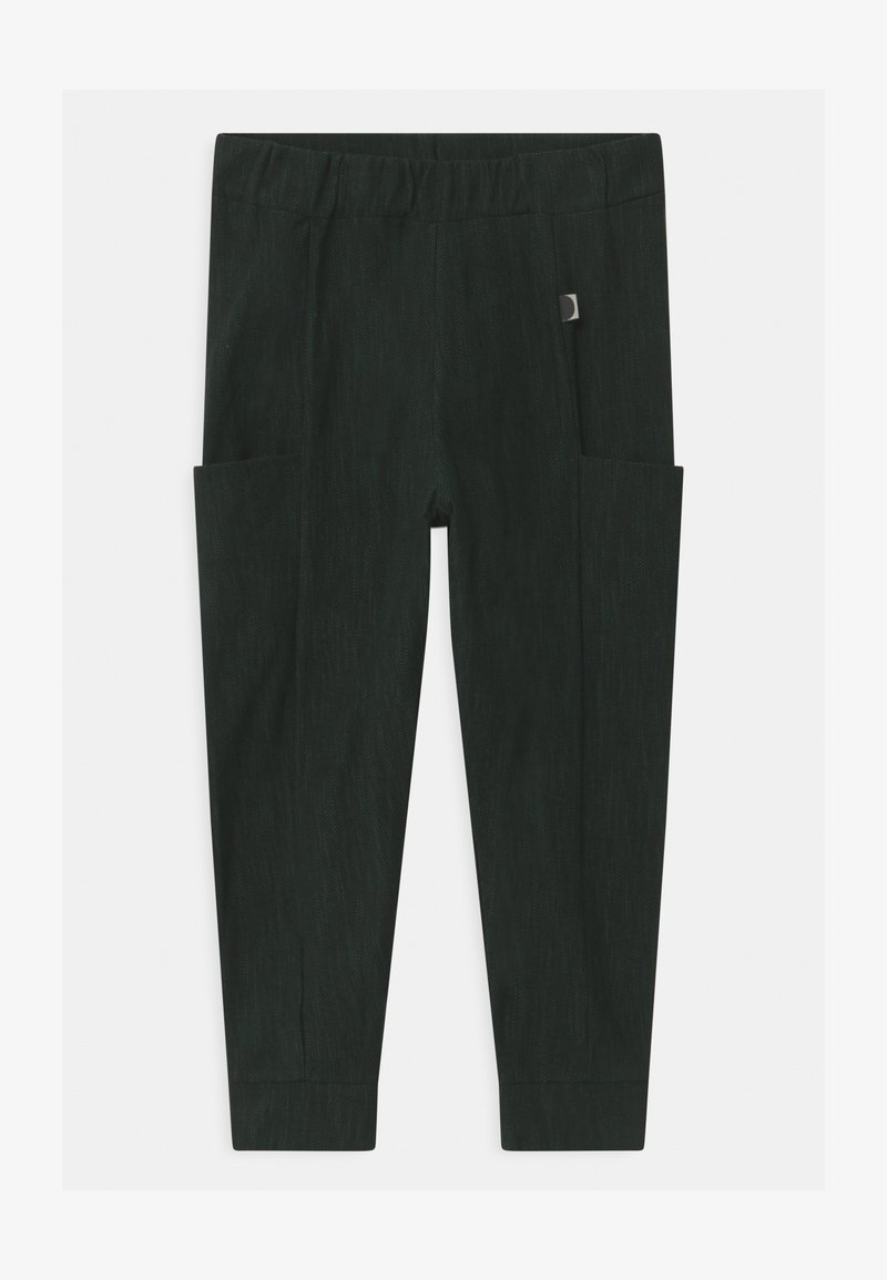 Papu - UNISEX - Kalhoty - black/school green