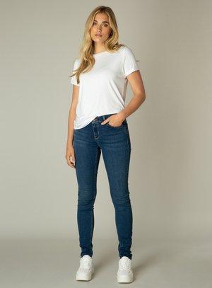 BOTTOMS JOY - Slim fit jeans - mid blue