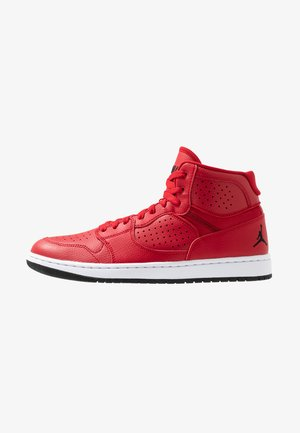 JORDAN ACCESS - High-top trainers - gym red/black/white