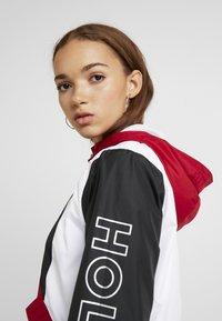 Hollister Co. - CORE FULL ZIP - Windbreaker - red/black/white - 3