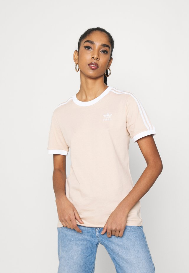STRIPES TEE - T-shirt imprimé - halo blush
