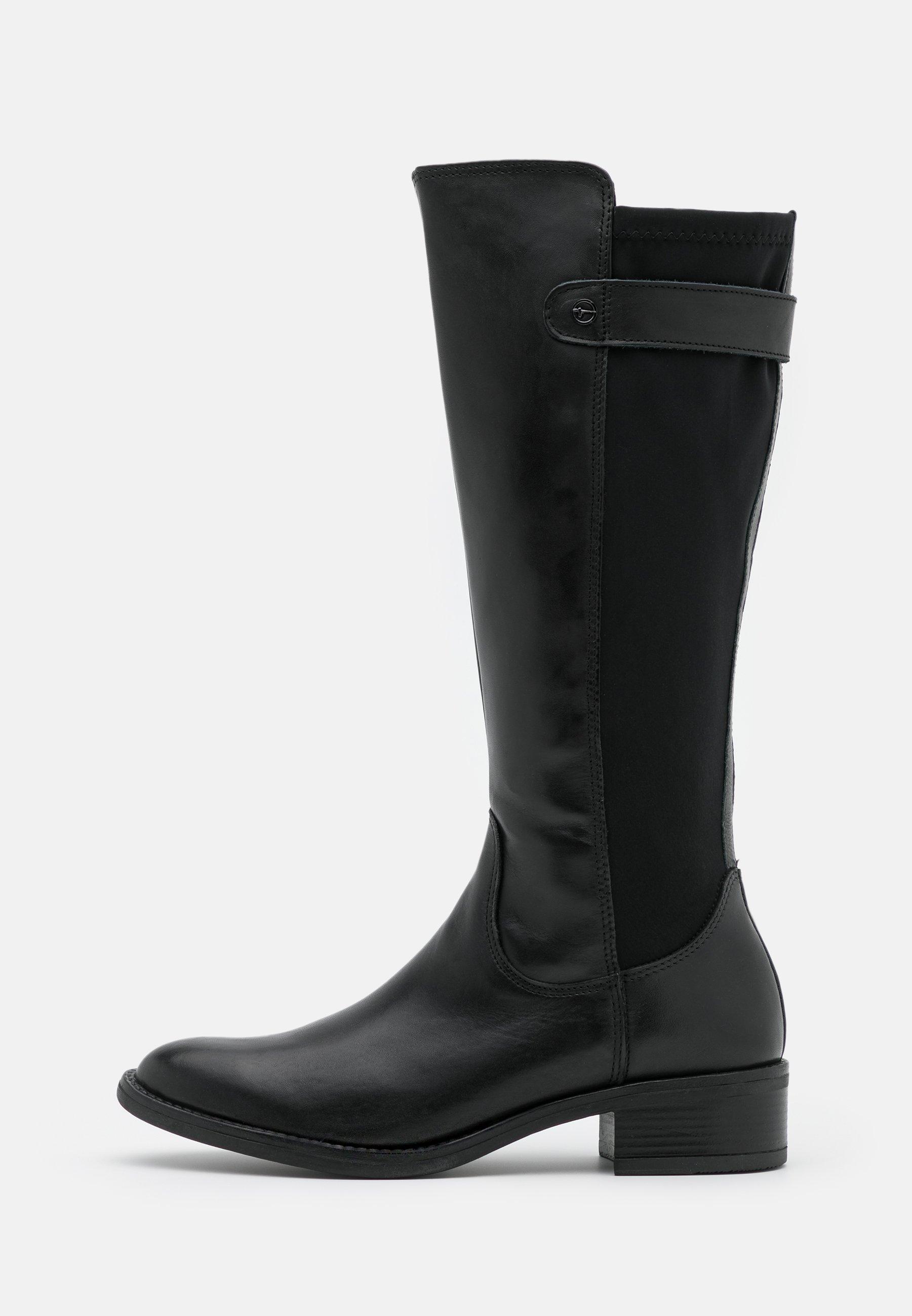 Tamaris BOOTS Klassiska stövlar black matt Zalando.se