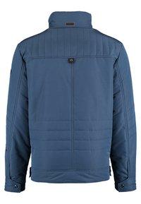 DNR Jackets - MIT VERDECKTER KNOPFLEISTE UND STEHKRAGEN - Light jacket - blue - 1