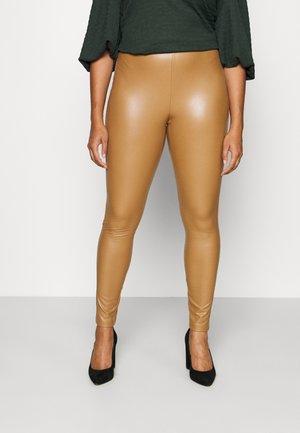 CARHANNA - Leggings - Trousers - toasted coconut