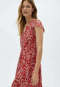 Massimo Dutti - Day dress - red - 2