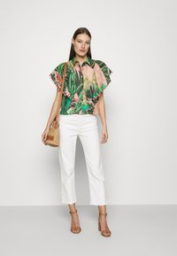 Farm Rio - AMZONIA FOREST FRILLED SLEEVES SHIRT - Košile - multi - 1