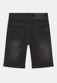 Name it - NKMSOFUS - Denim shorts - black denim - 1