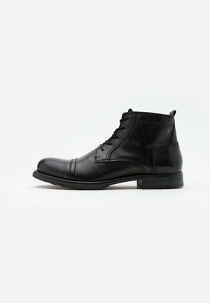 JFWRUSSEL MID - Lace-up ankle boots - anthracite