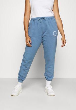 GRAPHIC JOGGER - Teplákové kalhoty - grey