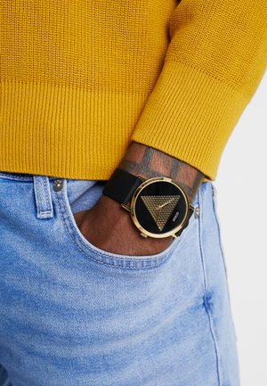 TREND - Montre - gold-coloured/black