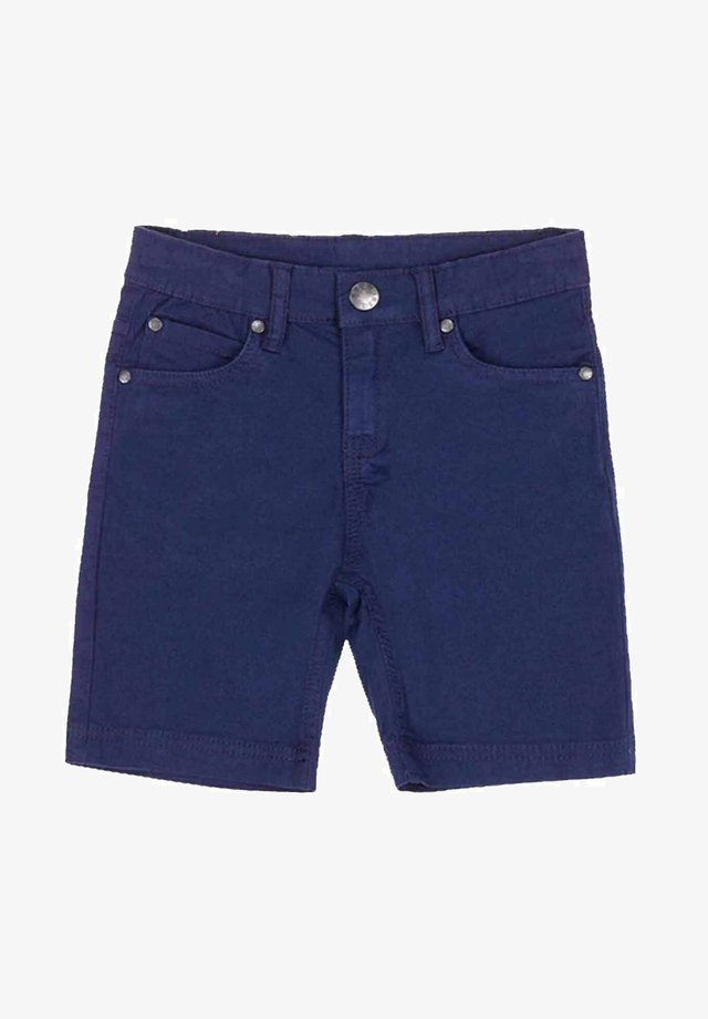 Jeansshort - azul marino