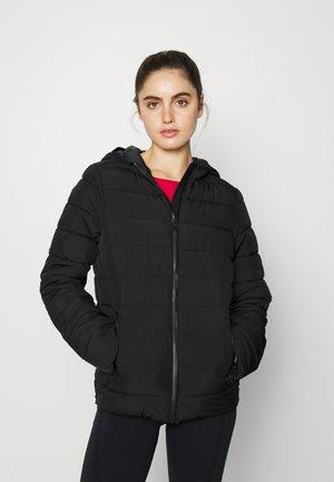 HOODED JACKET - Winter jacket - black