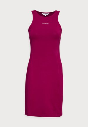 MICRO BRANDIN RACER BACK DRESS - Jersey dress - purple