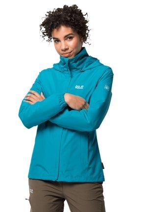 Waterproof jacket - dark cyan