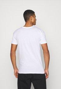 Denim Project - 5 PACK  - T-shirt basic - black/white - 2