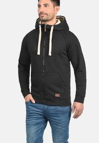 Blend - SPEEDY - Zip-up hoodie - black - 0