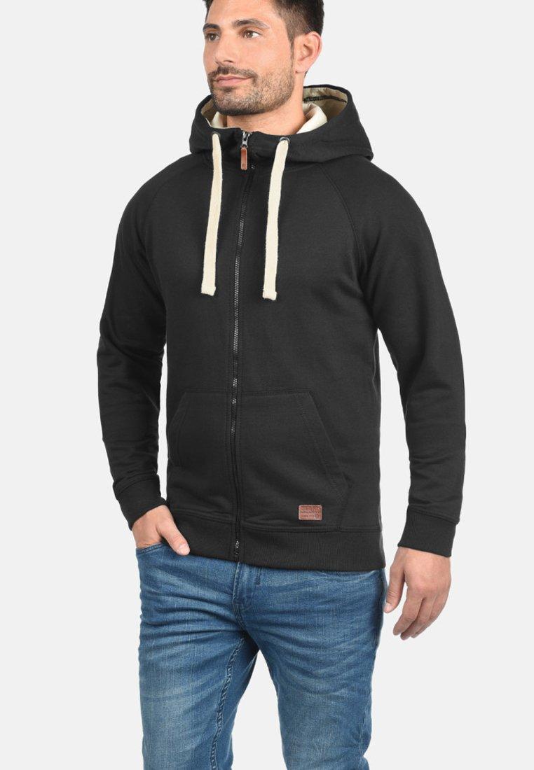 Blend - SPEEDY - Zip-up hoodie - black