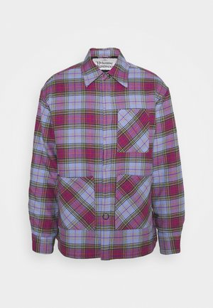 PADDED WORK SHIRT - Giacca leggera - blue