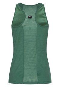 super.natural - MERINO TANKTOP W JONSER TANK - Sports shirt - blau - grün - 1