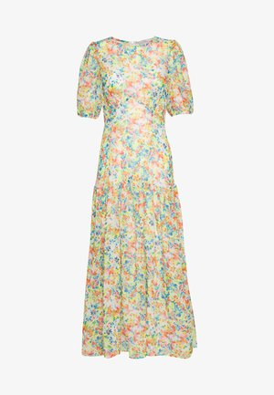 PASTEL LUCIA SHEER DRESS - Maxikjole - multicolor